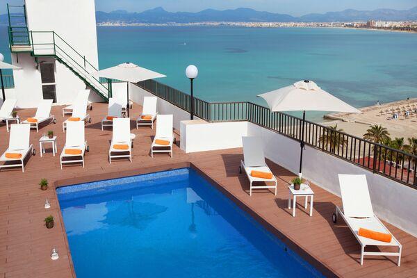 Holidays at Whala Beach Hotel in El Arenal, Majorca
