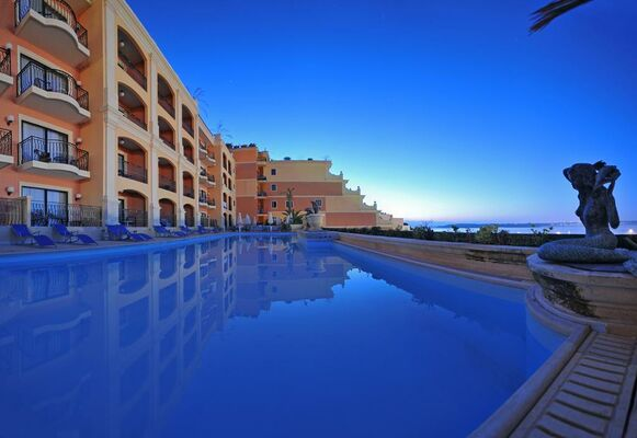 Holidays at Grand Hotel in Gozo, Malta