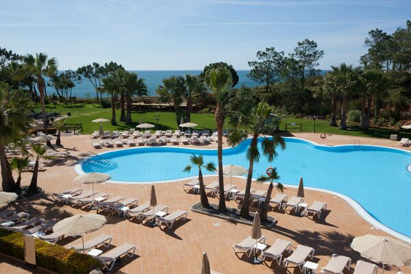 Holidays at Sensimar Falesia Atlantic Hotel in Olhos de Agua, Albufeira