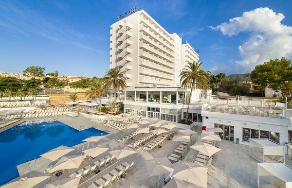 Holidays at Globales Mimosa Hotel in Palma Nova, Majorca