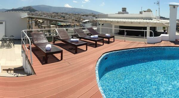 Holidays at Candia Hotel in Athens, Greece