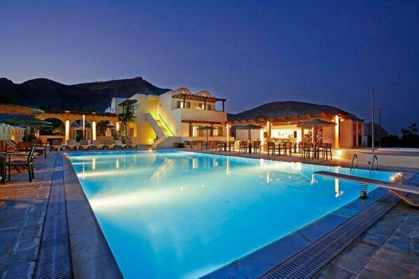 Holidays at Thera Mare Hotel in Perissa, Santorini