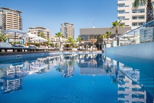 Holidays at Hilton Diagonal Mar Barcelona Hotel in Diagonal N, Barcelona