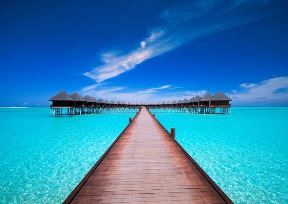 Holidays at Olhuveli Beach Resort Hotel in Maldives, Maldives