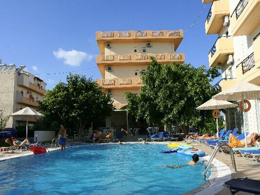 Holidays at Castro Hotel in Amoudara, Crete