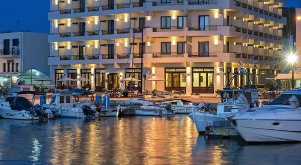 Holidays at Porto Veneziano Hotel in Chania, Crete