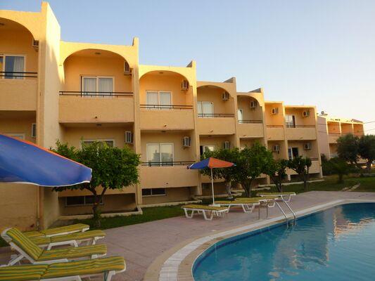 Holidays at Saint Amon Hotel in Faliraki, Rhodes