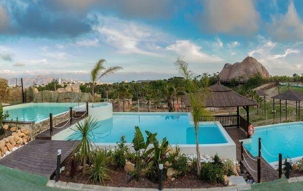 Holidays at Magic Natura and Polynesian Lodge Resort Hotel in Benidorm, Costa Blanca