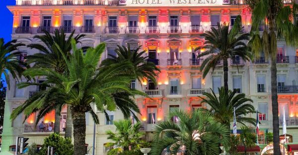 Holidays at West End Hotel in Nice, France