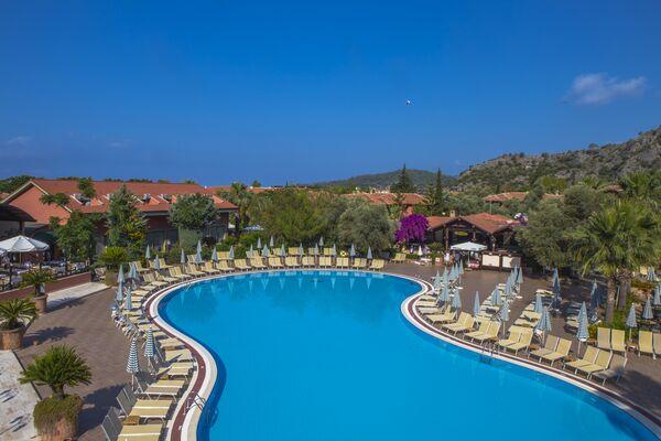 Holidays at Sun City Hotel and Beach Club in Olu Deniz, Dalaman Region