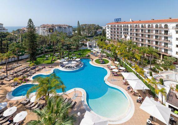Holidays at H10 Andalucia Plaza Hotel in Puerto Banus, Costa del Sol