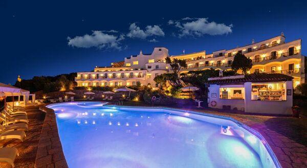 Holidays at Luci di la Muntagna Hotel in Porto Cervo, Sardinia