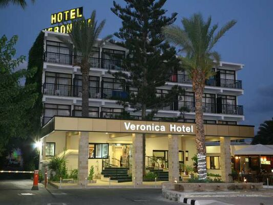 Holidays at Veronica Hotel in Paphos, Cyprus