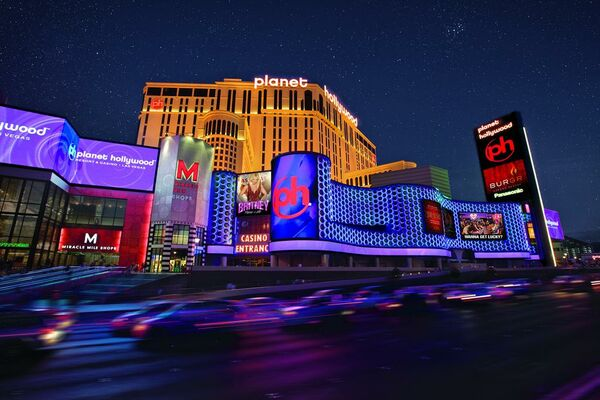 Holidays at Planet Hollywood Resort and Casino Hotel in Las Vegas, Nevada
