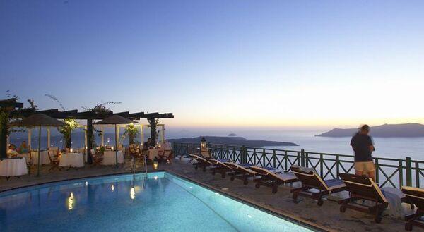 Holidays at Dana Villas Hotel in Firostefani, Santorini