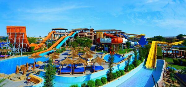 Holidays at Jungle Aqua Park Hotel in Hurghada, Egypt