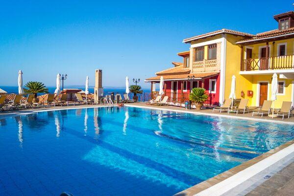 Holidays at Sea View Village Apartments in Vassilikos, Zante