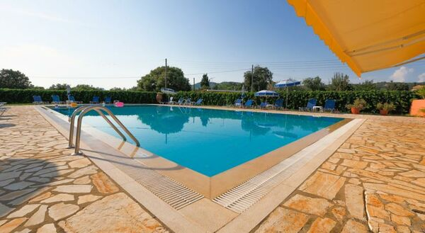 Holidays at Bruskos Hotel in St George South, Corfu
