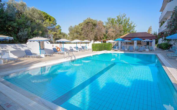 Holidays at Nathalie Hotel in Ixia, Rhodes