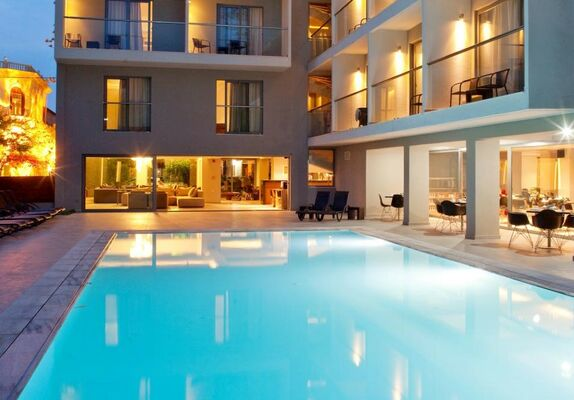 Holidays at Oktober Downtown Rooms Hotel in Rhodes Town, Rhodes
