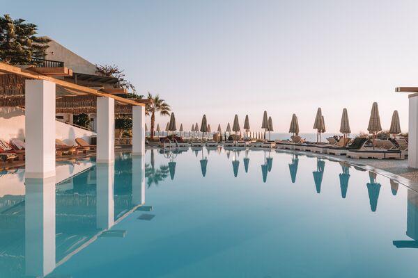 Holidays at Sea Side Resort & Spa Hotel in Agia Pelagia, Crete