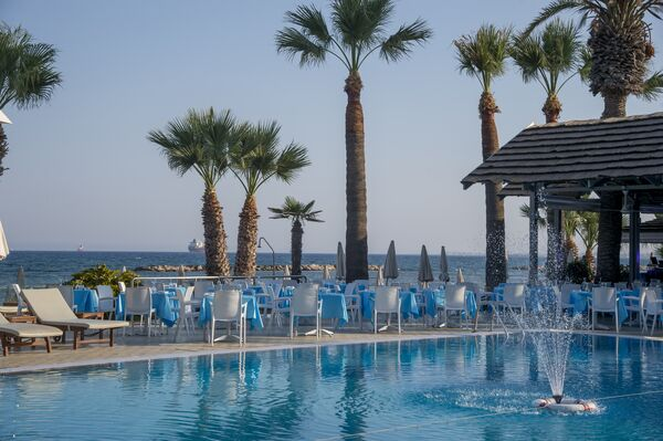 Holidays at Palm Beach Hotel & Bungalows in Larnaca Bay, Larnaca