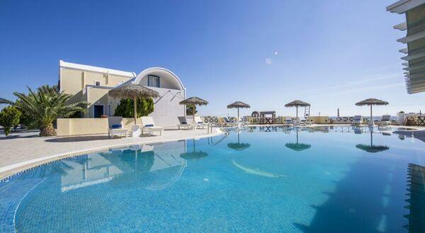 Holidays at Bella Santorini Hotel in Perivolos, Perissa