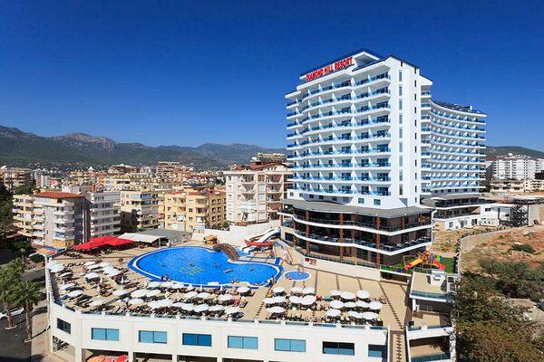 Holidays at Diamond Hill Resort in Alanya, Antalya Region