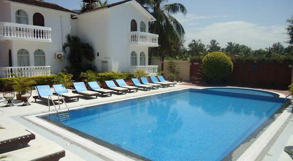 Holidays at Colonia Santa Maria Hotel in Baga Beach, India