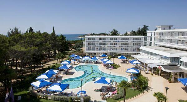 Holidays at Laguna Hotel in Novigrad, Croatia