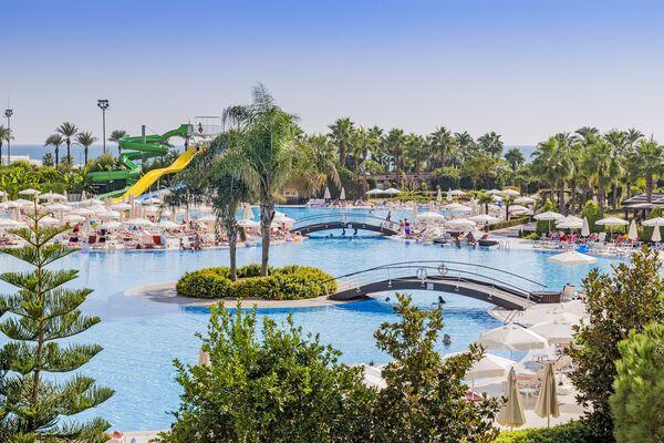 Holidays at Miracle Resort Hotel in Lara Beach, Antalya Region
