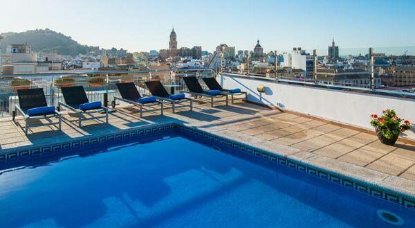 Holidays at Salles Malaga Centro Hotel in Malaga, Costa del Sol