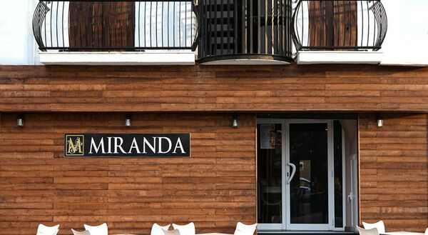 Holidays at Miranda Hostal in Blanes, Costa Brava