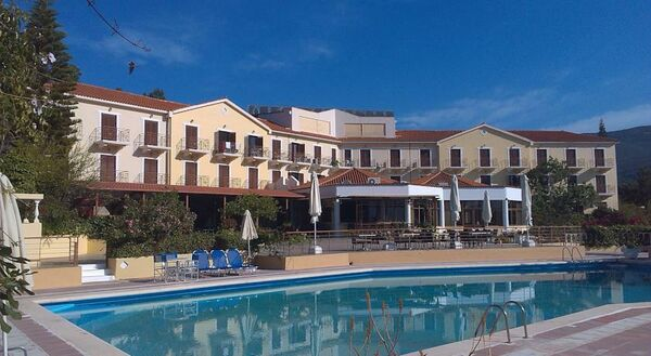 Holidays at Karavados Beach Hotel in Karavados, Kefalonia