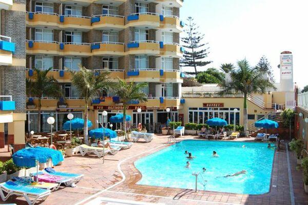 Holidays at Veril Playa Hotel in Playa del Ingles, Gran Canaria