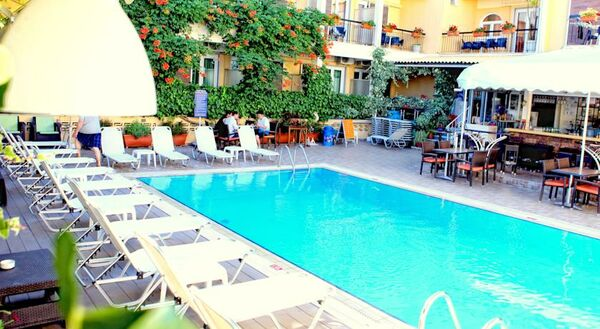 Holidays at Telesilla Hotel in Kontokali, Corfu