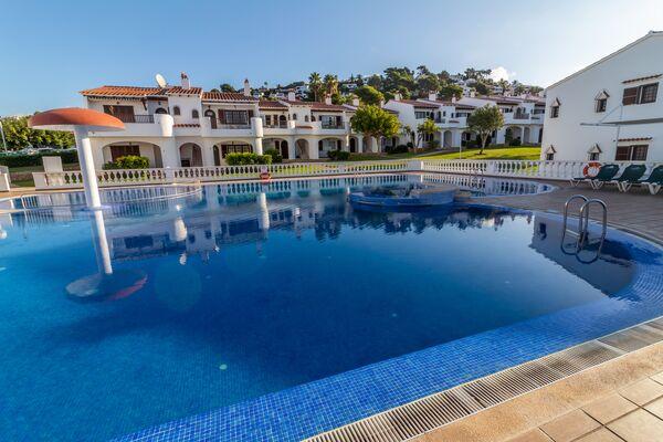 Holidays at Son Bou Gardens Apartment Complex in Son Bou, Menorca
