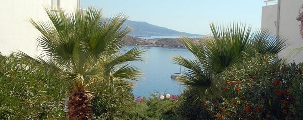 Holidays at Blue Bodrum Beach Hotel in Kadikalesi, Turgutreis