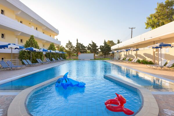Holidays at Memphis Beach Hotel in Kolymbia, Rhodes