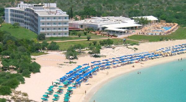 Holidays at Asterias Beach Hotel in Ayia Napa, Cyprus