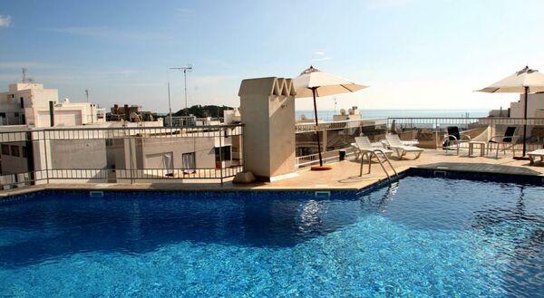 Holidays at Duquesa Playa Aparthotel in Santa Eulalia, Ibiza
