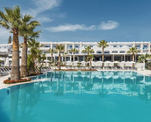 Holidays at Mitsis Rodos Village Beach Hotel & Spa in Kiotari, Rhodes