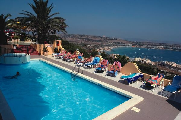 Holidays at Panorama Hotel in Mellieha, Malta