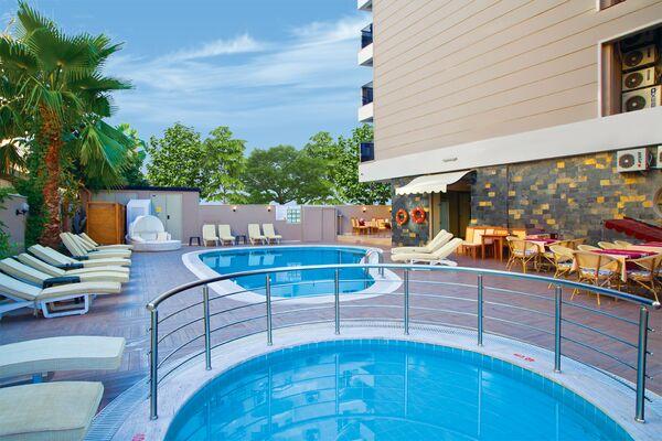 Holidays at Marmaris Malibu Beach Hotel in Marmaris, Dalaman Region