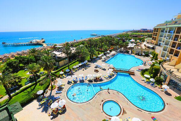 Holidays at Lyra Resort Hotel in Kizilagac Side, Side