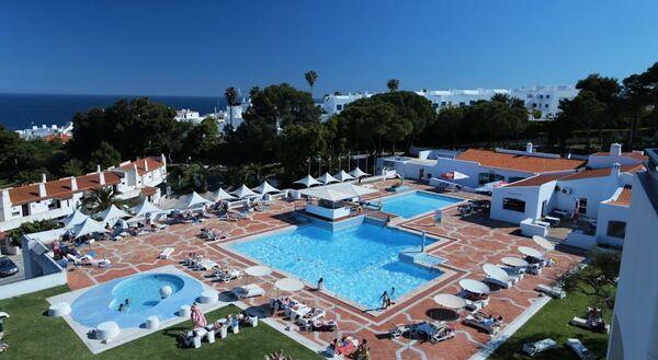 Holidays at Albufeira Jardim 1 & 2 Apartments in Albufeira, Algarve
