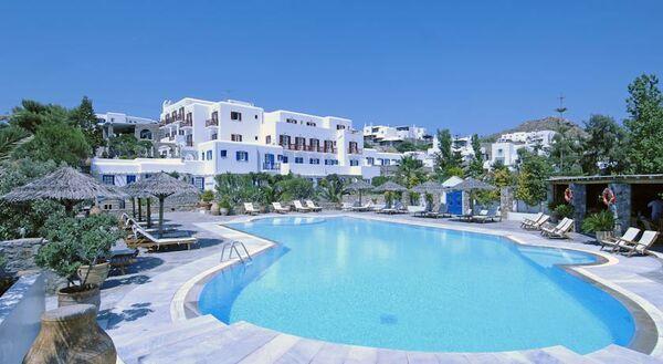 Holidays at Kamari Hotel in Plati Gialos, Mykonos