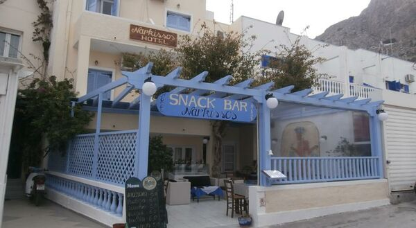 Holidays at Narkissos Hotel in Kamari, Santorini
