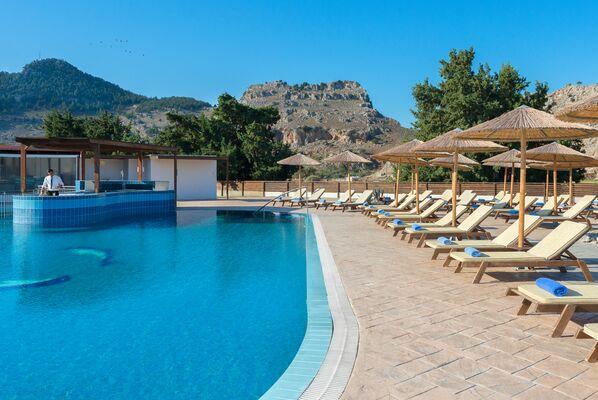 Holidays at Anavadia Hotel in Kolymbia, Rhodes