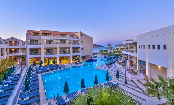 Holidays at Porto Platanias Beach Resort & Spa in Platanias, Chania